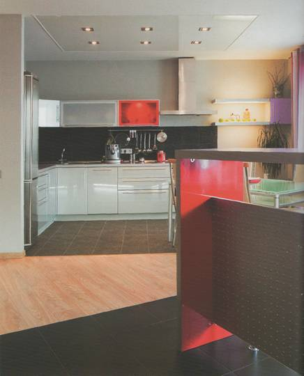 организация кухонной зоны